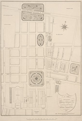 A plan of the intended improvements, on the estate of His Grace the Duke of Bedford (1800)